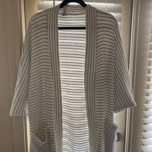 Splendid medium striped cardigan